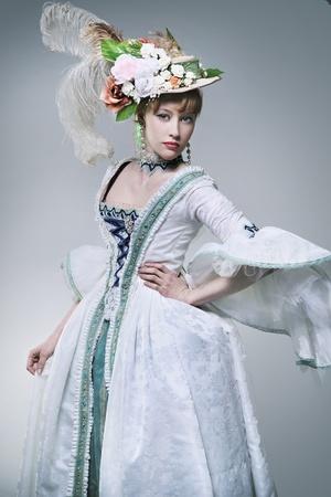 Fashionable beauty posing photo