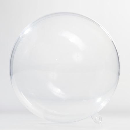 round glasses: Bola de cristal vac�a en el fondo blanco