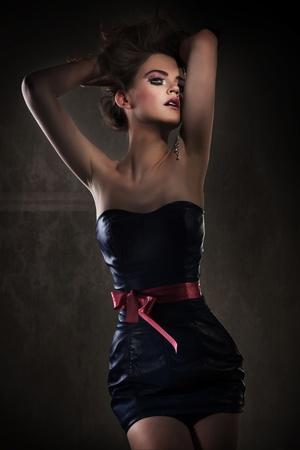 Elegant lady posing Stock Photo - 12006901