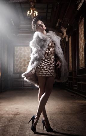 avantegarde: Sexy woman