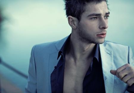 Handsome man