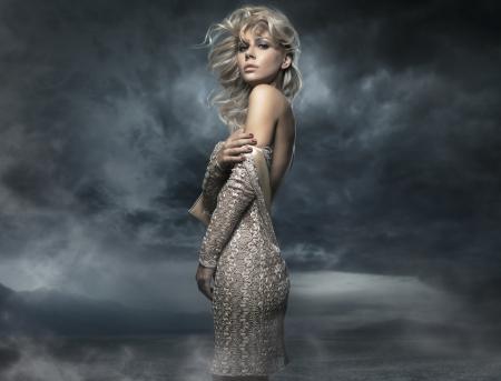 avantegarde: Photo of a beautiful lady posing