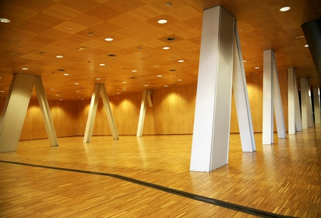 metallic stairs: Modern background Stock Photo