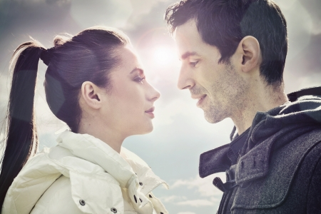 Young loving couple Stock Photo - 13686742