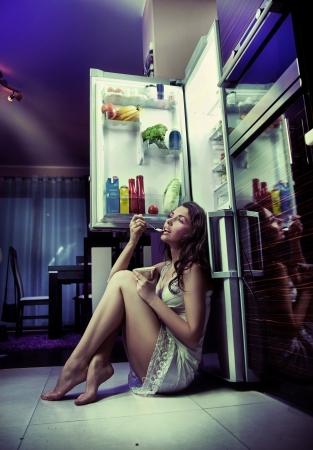 refrigerador: Noche a escondidas
