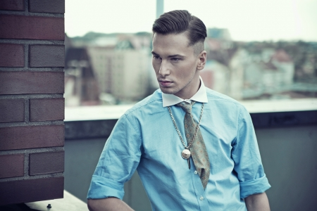 Fashionable young man Stock Photo - 13705341