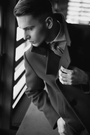 Elegant young guy Stock Photo - 13705425