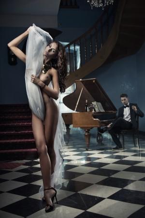 pareja desnuda: pareja sexy