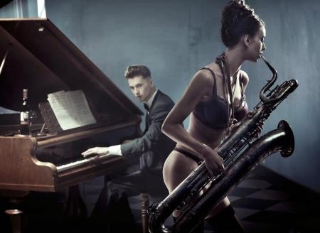 sexy duet photo