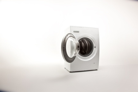 appliances: washing machine Stock Photo
