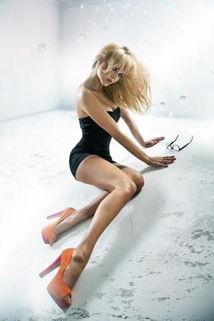 Sexy lade wearing high heels Stock Photo - 16168491