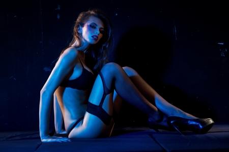 Sexy woman wearing stocking Stock Photo - 16119262