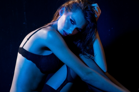 Portrait of a sexy woman Stock Photo - 16119284