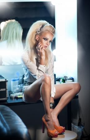 sexy blonde girl: Sexy blondynka