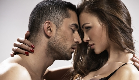 sensuality: Great photo of loving young marriage couple