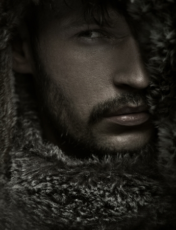hood: Amazing photo of guy with facial hair
