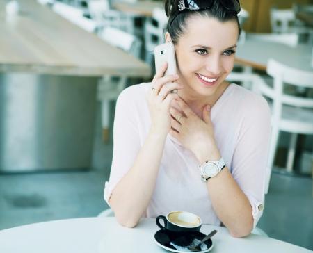 Amazing lady with fabuolus smile Stock Photo - 21553329