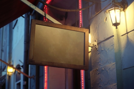 Fine picture of restaurant's old blackboad Stock Photo - 21563194
