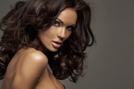donna sexy: Ritratto di perfetta bellezza femminile Archivio Fotografico