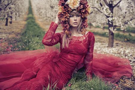 Fantsatic portrait of the pretty  Lady Summer