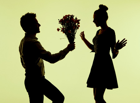 giving back: Charming lady surprised of the proposal