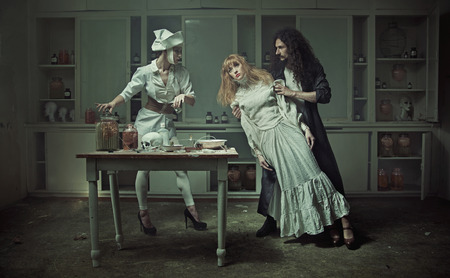 Surgery in the old haunted hospital
