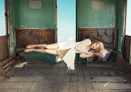 levitating: Portrait of the levitating lady
