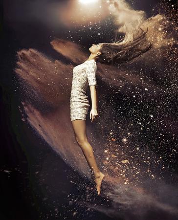 발레 댄서의 예술 사진