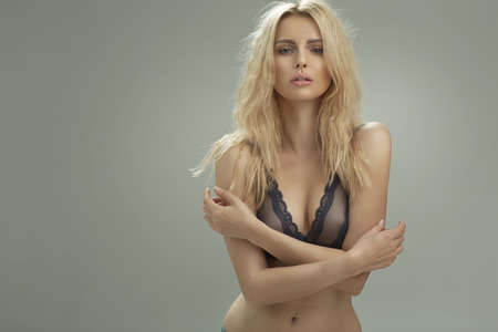 seductive women: Closeup portrait of a sensual woman