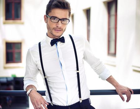 Portrait of a handsome elegant businessman Zdjęcie Seryjne