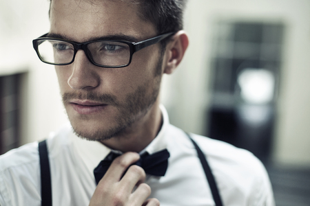 chân dung cận cảnh của một người đàn ông trẻ tuổi đẹp trai Kho ảnh