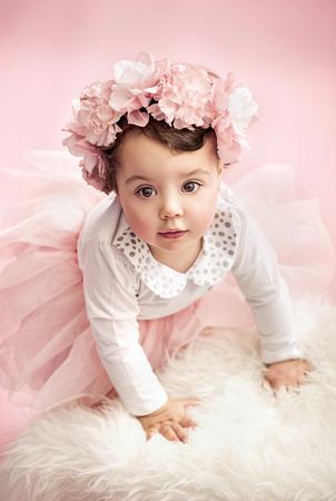 tot: Cute tot as a ballet dancer