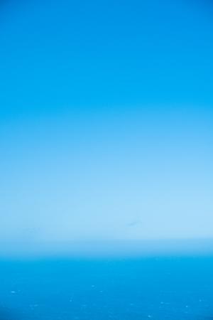Immagine aerea dell'oceano calmo Archivio Fotografico