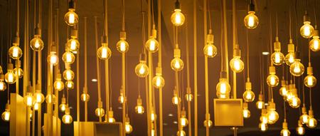 Light bulbs for the ceiling decoration