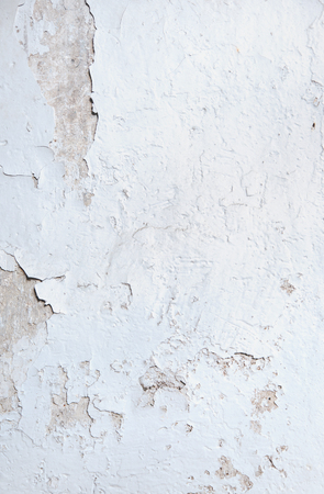 Stained and ragged wall - vintage building Stock Photo