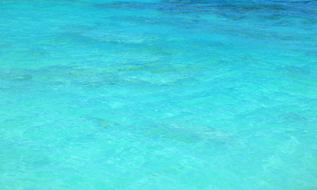 Picture of a calm ocean - clear, blue water