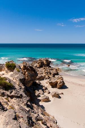 kangaroo island: Beach on Kangaroo Island, South Australia.