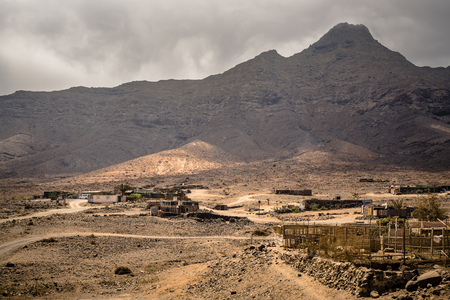 Remote small village in the western part of the Jandía peninsula in Fuerteventura, Canary Islands.