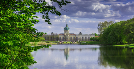 surviving: Schloss Charlottenburg (Charlottenburg Palace) with garden in Berlin. It is the largest palace and the only surviving royal residence in the city.