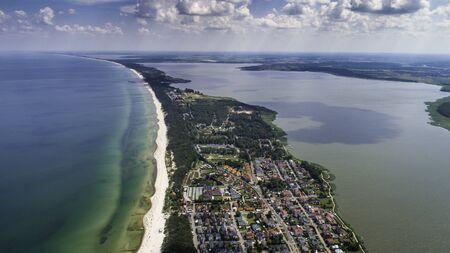 Mielno - a beautiful city and resort between the Baltic Sea and Lake Jamno