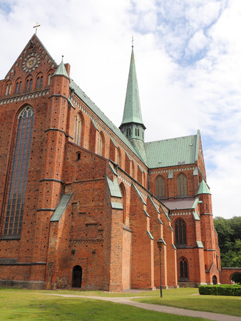 minster: The Gothic Minster of Doberan  in North Germany Stock Photo