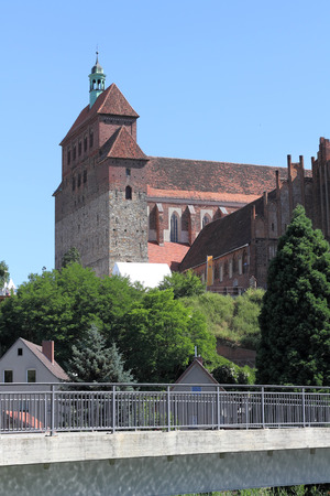 romanesque: The Romanesque Cathedral in Havelberg, Germany