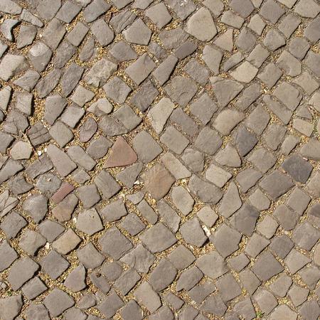 cobble: Top view of cobble stones