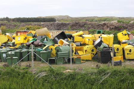 storage bin: rubbish dump