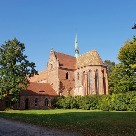 The former Cistercian monastery in Chorin