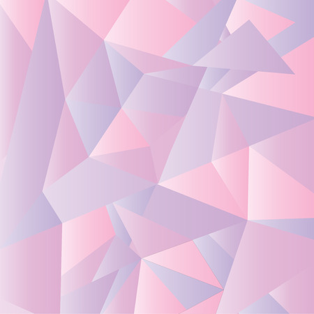 pink wallpaper: Geometric wallpaper in pink shade Illustration