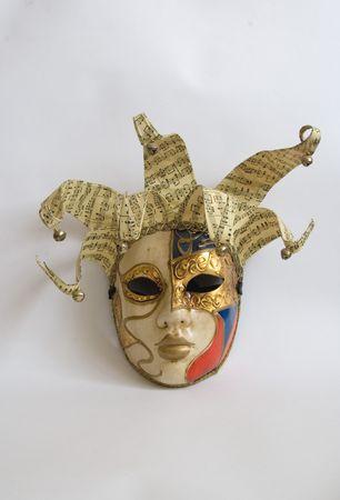 traditonal: venice mask carnival italian traditonal costume Stock Photo
