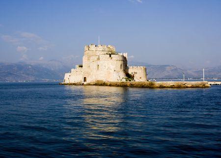 bourtzi: old bourtzi fortress in nafplio greece