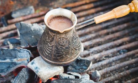 coffee in turku Stock Photo