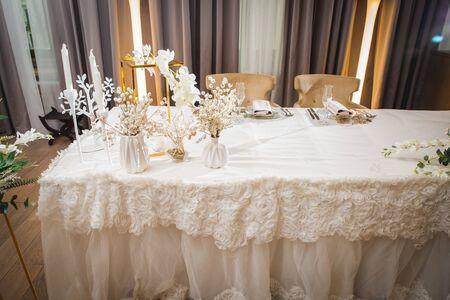 Wedding table Stok Fotoğraf